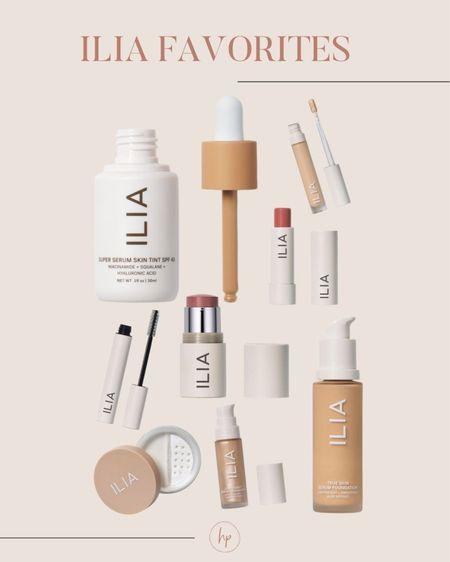 Ilia favorites! Love how natural this makeup is   #LTKbeauty