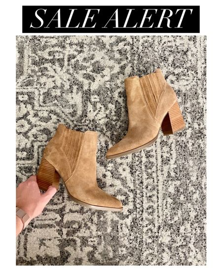 SALE ALERT 🚨 get an extra 21% off using code RINGINGITIN at checkout - great deal on these already discounted #marcfisher booties and more! Offer only good through 1/3/2021 http://liketk.it/35800 #liketkit @liketoknow.it #booties #combatboots #bootsale #dsw
