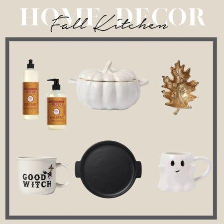 Fall Home Decor - kitchen decorations! Fall mugs, Halloween mugs, ghost mug, pumpkin spice   #LTKHoliday #LTKhome #LTKSeasonal