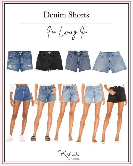 Denim shorts I'm living in! http://liketk.it/3cNAo #liketkit @liketoknow.it #LTKstyletip #LTKfit