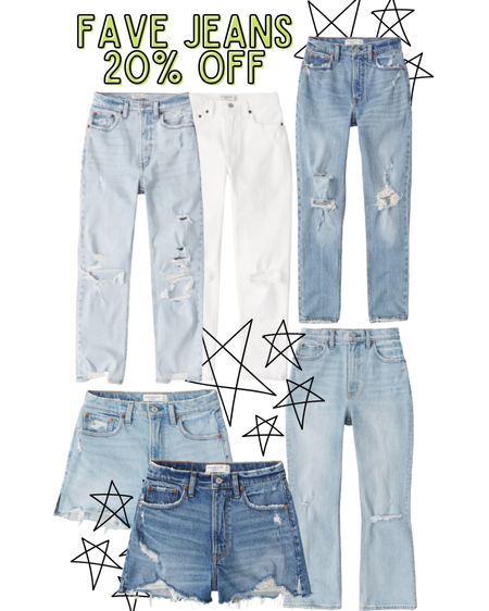 Abercrombie jeans are 20% off with code LTKAF2021! High rise skinny jeans, ultra high rise ankle straight jeans, 90s high rise cutoff shorts!  I order the 24 short in all jeans!  http://liketk.it/3hkTx @liketoknow.it #liketkit #LTKDay #LTKsalealert #LTKunder100