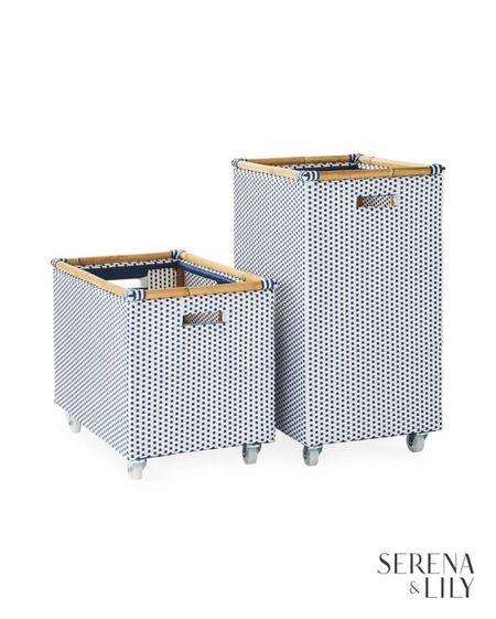Riviera Rolling Storage! Rolling bin great for laundry or storage   #LTKstyletip #LTKhome