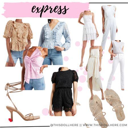 Express spring essentials   #LTKunder100 #LTKSpringSale #LTKshoecrush