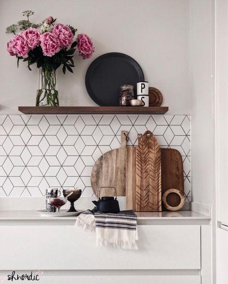 Kitchen corner with wooden chopping boards http://liketk.it/2CaJY #liketkit @liketoknow.it #LTKhome #LTKeurope