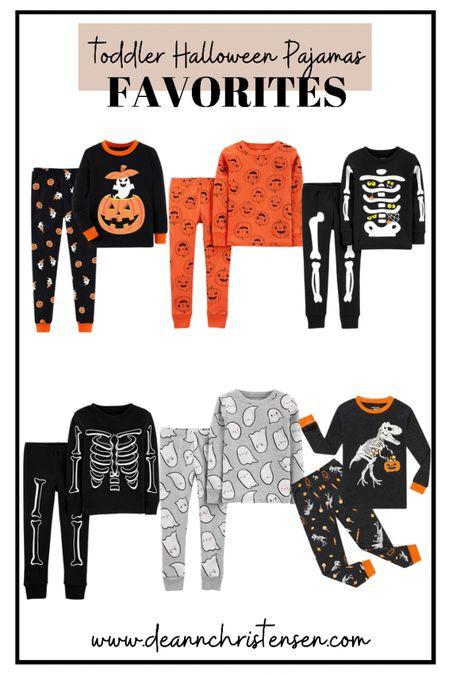 Toddler Halloween Pajamas   #LTKSale #LTKSeasonal #LTKkids