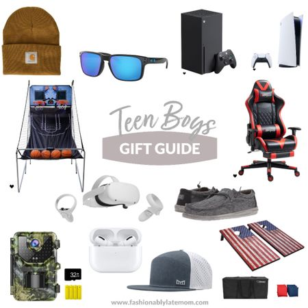 Gift ideas for teen boys! #giftguide #boys #christmasgifts  #LTKGiftGuide #LTKkids #LTKHoliday