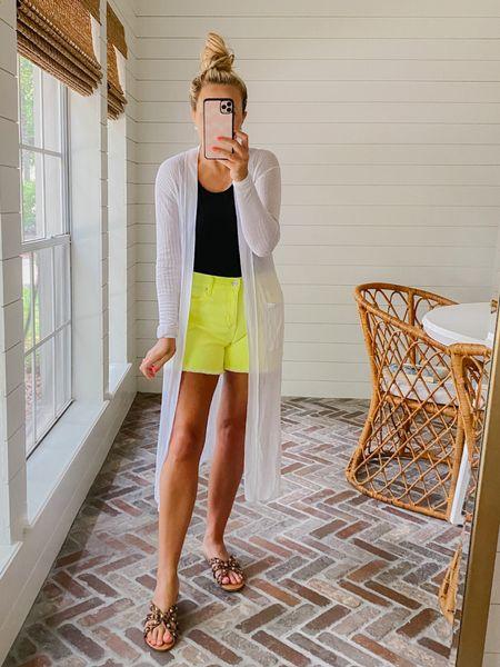 Walmart deals for days event! These shorts and duster are on sale!   #LTKunder50 #LTKstyletip #LTKsalealert