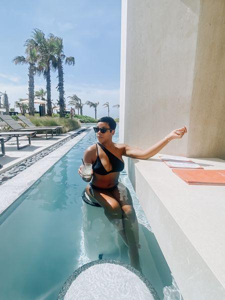 summer isn't quite over for me! Grab this chic black 2-piece bikini for only $13!!!   #LTKtravel #LTKswim #LTKunder50