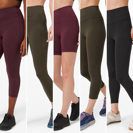 """Tried on all the new Everlux styles at lululemon last week + the Wunder Train Tight 25"""" officially made my wish list! I go back and forth between size 6 and 8 depending on fabric/style and, while both were ok in these new styles, the 8 is a better fit. http://liketk.it/2Kcx4 #liketkit @liketoknow.it #LTKfit #LTKstyletip #LTKtravel"""