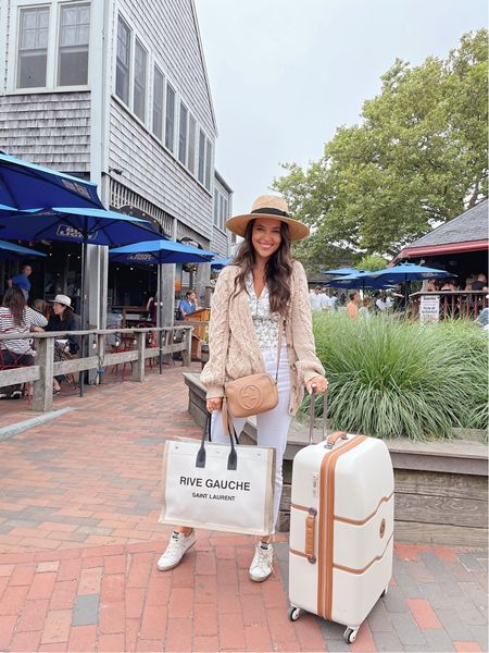 Ferried across to Nantucket for the week! So excited to be back here. Linking my travel outfit!   #LTKSeasonal #LTKstyletip #LTKtravel