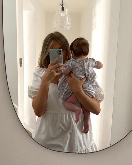 Amazon fashion white summer dress, white dress, baby dress, blue baby dress, baby summer dress, little girls summer dress, the white company baby @liketoknow.it http://liketk.it/3hSwJ #liketkit #LTKfamily #LTKunder50 #LTKbaby
