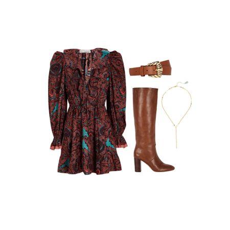 The chicest fall dress!     #LTKSeasonal #LTKstyletip