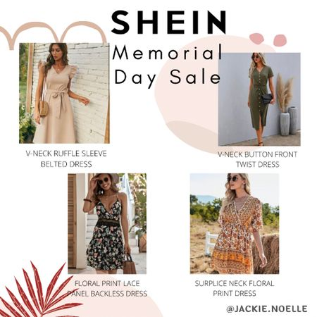 Don't miss out on these awesome Memorial Day weekend sales on dresses from SHEIN!!! You can instantly shop my looks by following me on the LIKEtoKNOW.it shopping app @liketoknow.it #liketkit #LTKsalealert #LTKstyletip #LTKunder50 http://liketk.it/3gwKc