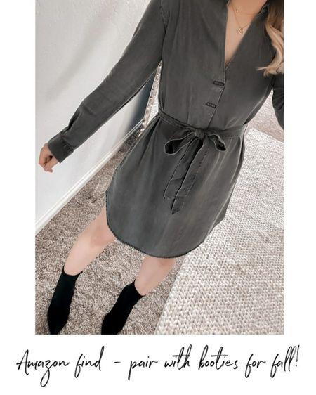 Amazon Dress, Amazon fashion, Amazon find, fall find, fall outfit #LTKSeasonal #LTKstyletip #LTKunder50     http://liketk.it/3nRY7 @liketoknow.it #liketkit