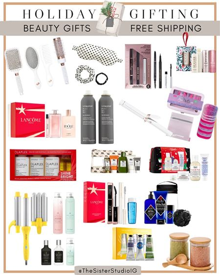 Nordstrom Beauty Gift Guide Holiday - Free Shipping  #LTKHoliday #LTKbeauty #LTKGiftGuide