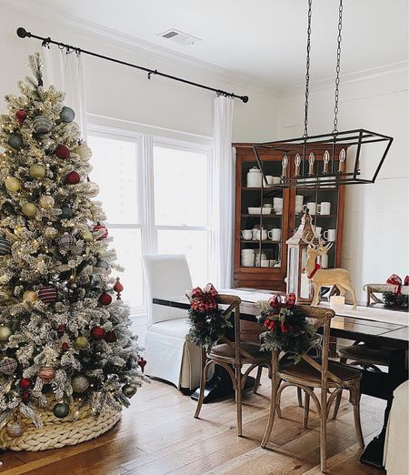 Holiday decor // Christmas farmhouse   #LTKHoliday #LTKunder50 #LTKhome