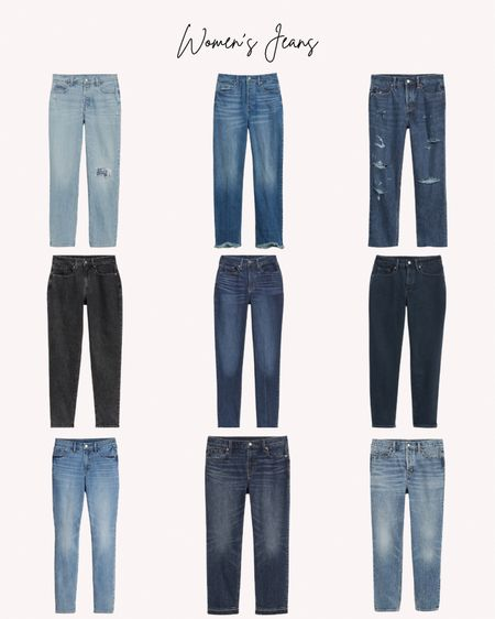 Women's jeans, new arrivals, denim  Follow me for more ideas and sales.  Double tap this post to save it for later    #LTKSeasonal #LTKstyletip #LTKunder50
