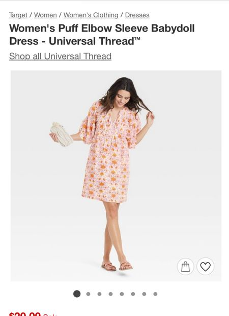 The best dress is now on sale!  #ltkunder25 #target #targetstyle