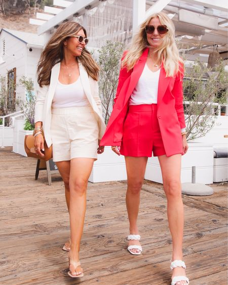 """Exciting morning 💫 @melissameyers and I are featured on @whowhatwear ( exact link: https://www.whowhatwear.com/versatile-summer-trends )   The piece is titled, """"We're In Our 40s and 50s—These Are the Top 5 Trends We're Wearing This Summer""""   Hope you will check it out!  ~Erin xo    http://liketk.it/3hJFa #liketkit @liketoknow.it   #LTKtravel #LTKstyletip #LTKworkwear"""