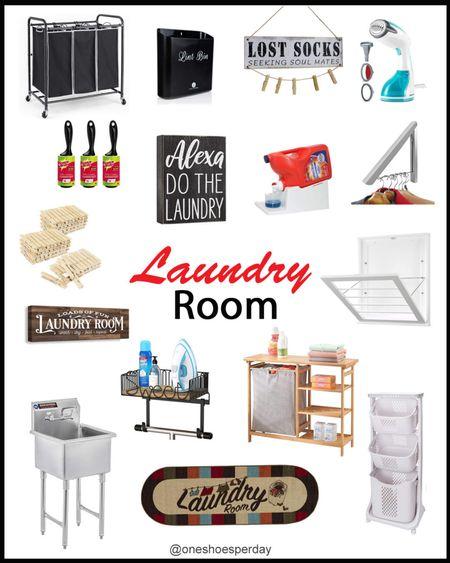 Amazon Finds  Laundry Room         http://liketk.it/3pRLd @liketoknow.it #liketkit #LTKGiftGuide #LTKHoliday #LTKSeasonal #LTKsalealert #LTKhome #LTKunder50 Home Decor | Amazon Home | Amazon Favorites |