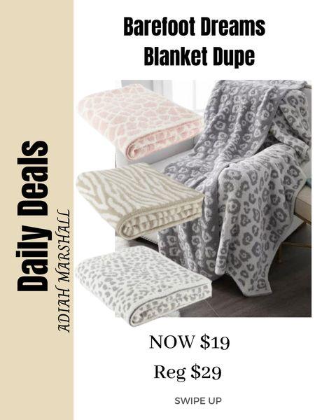 Sams Club Barefoot Dreams Blanket dupe on sale for $19. I have 4 of them and swear by them!    #LTKhome #LTKSeasonal #LTKsalealert