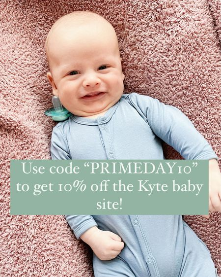"Use code ""PRIMEDAY10"" to get 10% off the Kyte Baby site! http://liketk.it/3i4I1 #liketkit @liketoknow.it"