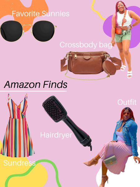 Amazon Finds - http://liketk.it/3jiHb #liketkit @liketoknow.it #LTKbeauty #LTKstyletip #LTKunder50 - #sunglasses #crossbodybag #purses #dresses #vacationlooks #outfitideas #hairdryer