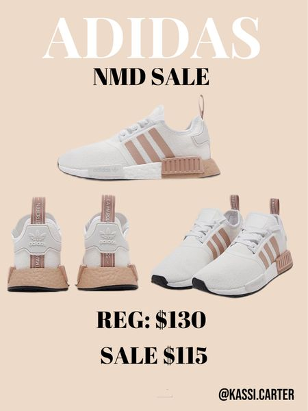 Adidas NMD sneaker sale. I love these neutral sneakers. Perfect with workout sets and travel outfits.   #LTKsalealert #LTKshoecrush #LTKfit