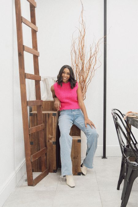 Sweaters and tops that look cute with jeans for Valentine's Day on the blog http://liketk.it/371lm #liketkit @liketoknow.it #LTKVDay #LTKunder50 #LTKstyletip Shop your screenshot of this pic with the LIKEtoKNOW.it shopping app