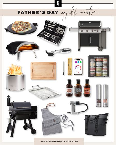 Father's Day gifts for the grill master #dad #giftguide #giftsforhim #bbq #fashionjackson http://liketk.it/3gPjY #liketkit @liketoknow.it #LTKmens #LTKhome #LTKunder100