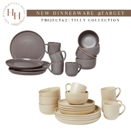 Project 62 Kitchen Tilly Collection  New colors available!  Project 62 dinnerware   Target plates   Target kitchen   stoneware plates   stoneware white plates   #LTKunder100 #LTKhome #LTKstyletip