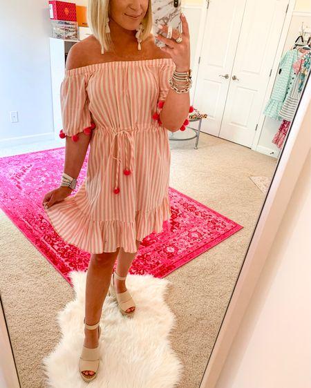 Cannot get enough of these pom pom's 💓 Shop this fun summer dress for under $20 in the @liketoknow.it app now 👉🏻 http://liketk.it/2CEpt #liketkit #LTKsalealert #LTKspring #LTKstyletip #LTKtravel #LTKunder50 #LTKunder100 #LTKsummer