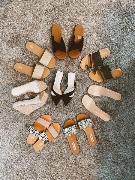 Treat yourself! Actually I treated myself before Mother's Day and then the kids surprised me with with these Steve Madden ones!   I'm set with so many cute sandals for summer!!!   #LTKstyletip #LTKshoecrush #LTKunder50