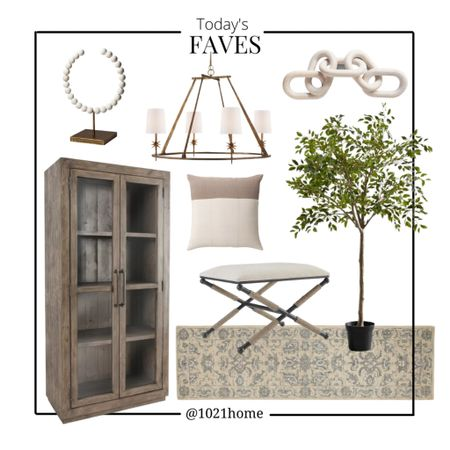 Cabinet, artificial tree, faux tree, fake tree, runner, rug, chandelier, target, Amazon, links, decor, ottoman, stool   http://liketk.it/3hTeU R #liketkit @liketoknow.it #LTKhome #LTKfamily #LTKsalealert @liketoknow.it.home