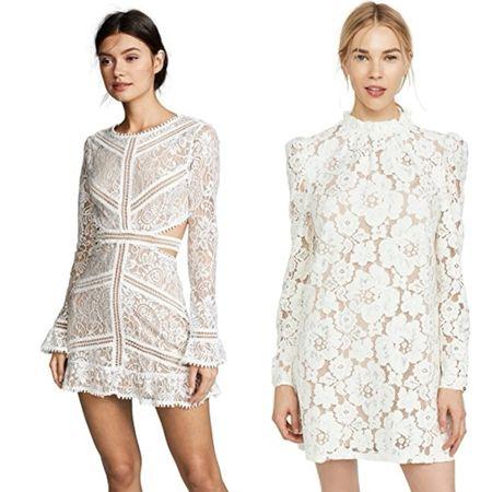 White dresses  #LTKunder50 #LTKunder100 #LTKwedding