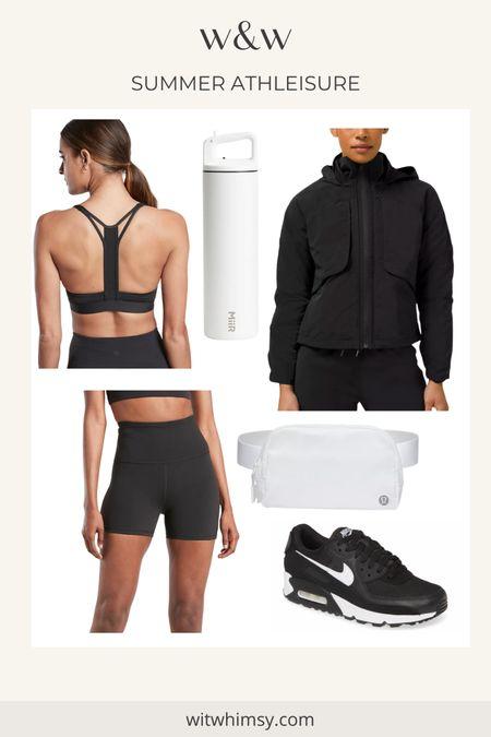 Summer athleisure outfit from lululemon, athleta and Nike @liketoknow.it http://liketk.it/3h0dx #liketkit #LTKfit