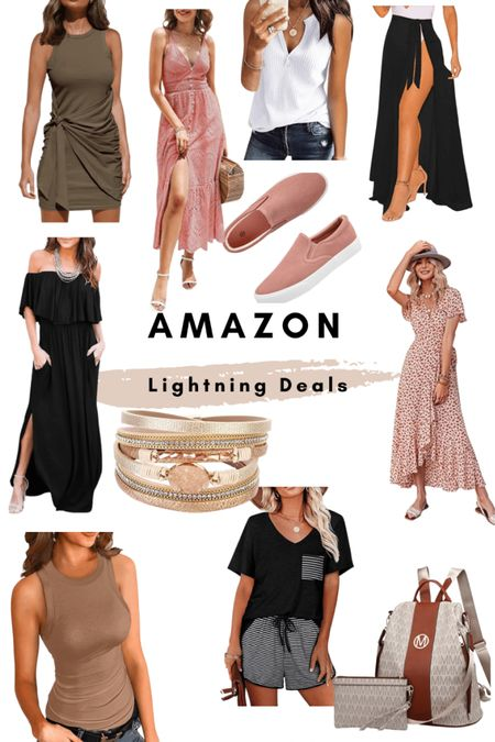 Daily amazon deals! Maxi dress / sneakers / tank top / wrap dress / backpack purse / summer amazon fashion   #LTKsalealert #LTKunder50 #LTKstyletip
