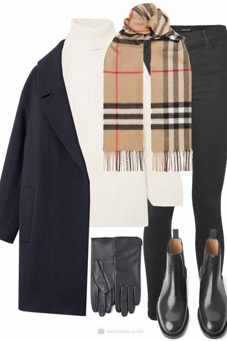 Oh baby its cold outside. About time for some great warm essentials | wool coat | scarf | chelsea boots | turtleneck | knitwear | #ootd #winteroutfit http://liketk.it/35knX @liketoknow.it #liketkit #LTKstyletip #LTKunder100 #LTKeurope