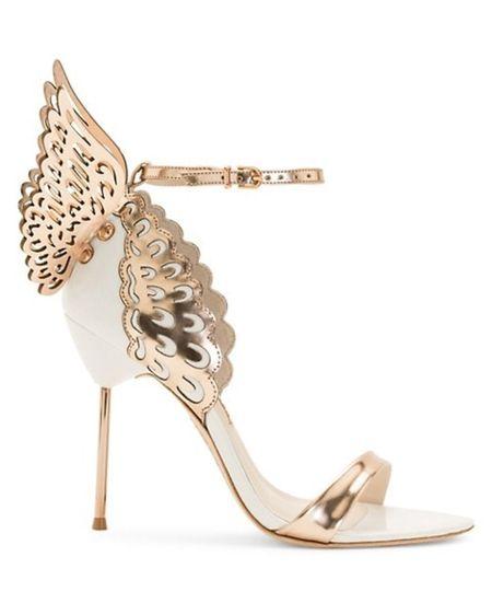These butterfly heels were sent straight from heaven 😍  Tags: Sophia Webster, wedding shoes, bridal shoes http://liketk.it/39CSn #liketkit @liketoknow.it #LTKwedding #LTKsalealert #LTKshoecrush