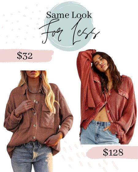 Amazon fashion finds Look for less Amazon shacket Shacket  #shacket #shirtjacket #fallfashion #amazonshacket #amazonfashion #amazonfashionfinds #amazonshacket #amazondupe #lookforless #amazonlookforless #founditonamazon #amazonprime #amazonfinds  #LTKSeasonal #LTKunder50 #LTKunder100