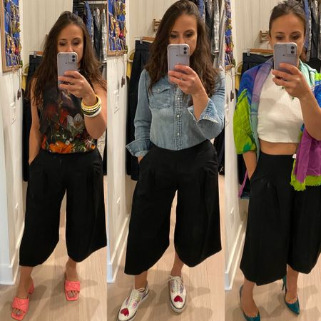 Culottes are so versatile! #culottes #versatilewardrobe #easylooks http://liketk.it/3imsC #liketkit @liketoknow.it #LTKstyletip #LTKworkwear #LTKunder100 Shop your screenshot of this pic with the LIKEtoKNOW.it shopping app Shop my daily looks by following me on the LIKEtoKNOW.it shopping app Download the LIKEtoKNOW.it shopping app to shop this pic via screenshot You can instantly shop my looks by following me on the LIKEtoKNOW.it shopping app You can instantly shop all of my looks by following me on the LIKEtoKNOW.it shopping app