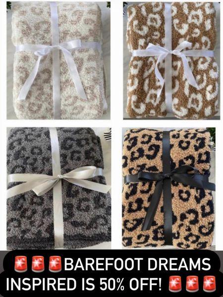 Barefoot dreams blanket sale 50% off! http://liketk.it/3gXgN #liketkit @liketoknow.it #LTKstyletip #LTKhome #LTKunder50