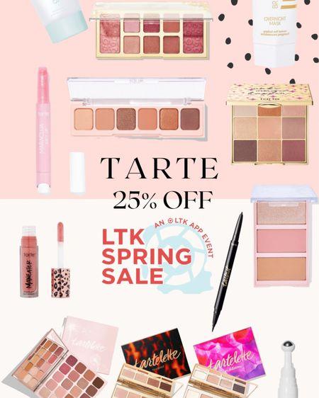 """LTK spring sale - 25% off all Tarte with code """"TARTELTK25""""! #liketkit @liketoknow.it http://liketk.it/3cpRD #LTKSpringSale #LTKbeauty #LTKsalealert #tartefinds #beautyproducts"""