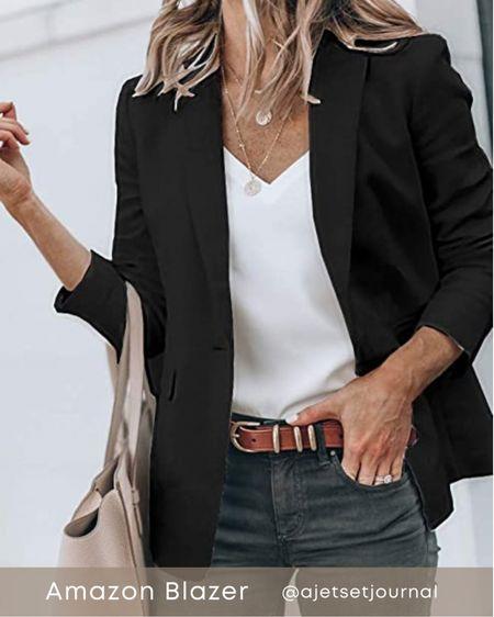 Amazon blazer  #amazonblazer #amazonblazers  #LTKunder100 #LTKSeasonal #LTKunder50