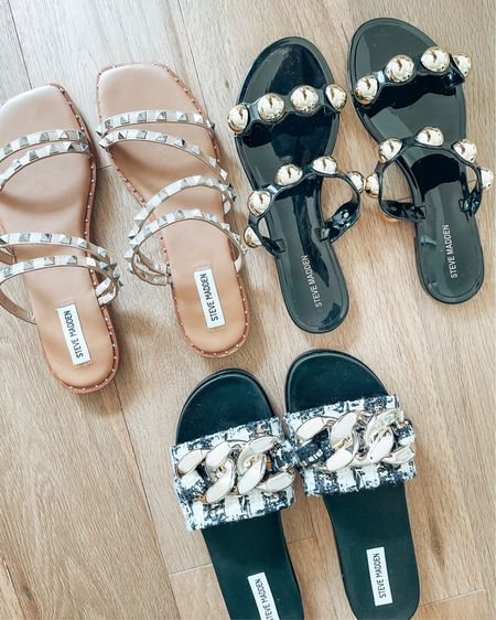 3 Versatile Sandals I've been wearing on sunny days. Look forward to wearing them this summer!  Which pair would you choose? 1, 2 or 3 ??  You can instantly shop my looks by following me on the LIKEtoKNOW.it shopping app   @liketoknow.it #liketkit #LTKshoecrush #LTKunder100 http://liketk.it/3gc5d