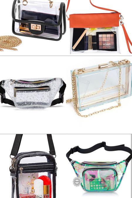 Clear bags for festivals!   #LTKunder50 #LTKtravel #LTKitbag