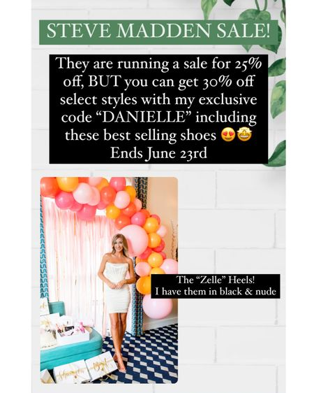 #stevemadden shoe sale!    @liketoknow.it @liketoknow.it.brasil @liketoknow.it.europe @liketoknow.it.family @liketoknow.it.home    #liketkit #LTKbaby #LTKunder50 #LTKshoecrush #heels #sale    http://liketk.it/3hKrG