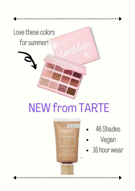 Make up // beauty // tarte cosmetics // summer make up // summer beauty   #LTKbeauty #LTKSeasonal #LTKunder50