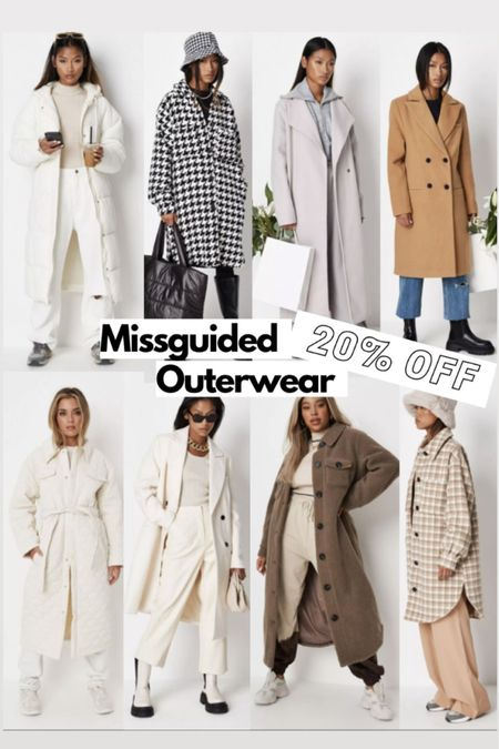 20% off everything at missguided with code SAVEMORE these are my top winter coat picks! Some great shackets , puffer coats and smart coats! #liketkit http://liketk.it/3ney5 @liketoknow.it #LTKSeasonal #LTKsalealert #LTKstyletip