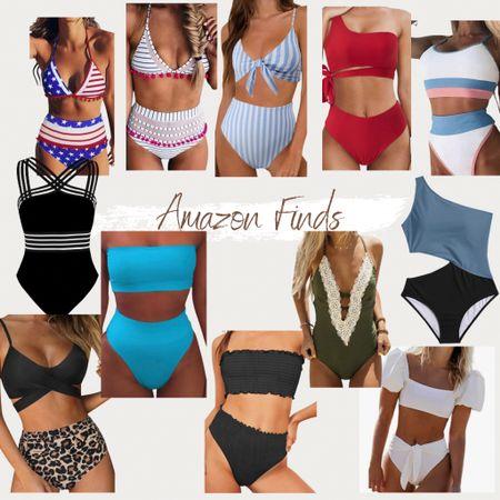 http://liketk.it/3g65J #liketkit @liketoknow.it #LTKunder50 #LTKswim #LTKtravel vacation must have, Amazon finds, Amazon fashion, summer style, American style swimsuit, one piece swimsuit, bikini, high waisted swimsuit bottoms, affordable swimwear, found it on Amazon, look for less, swimsuits, swimwear, one piece bikinis, one piece swimwear, monokinis, Amazon swimsuits, bathing suits, swim
